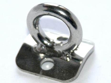 Кольцо такелажное с накладкой